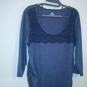 Maternity jersey top
